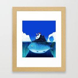 We all need some sun! Framed Art Print