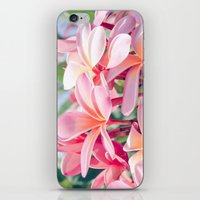 aloha iPhone & iPod Skins featuring Aloha by Sharon Mau