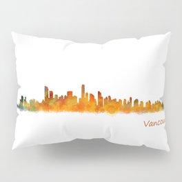 Vancouver Canada City Skyline Hq v01 Pillow Sham