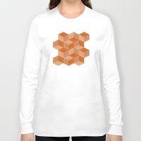 escher Long Sleeve T-shirts featuring Escher #002 by rob art | simple