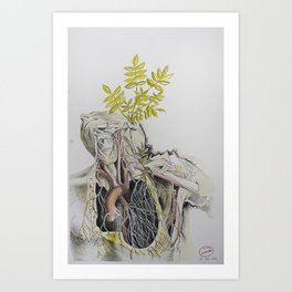 vivere et vivere sinere #7 Art Print