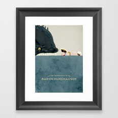 The Adventures of Baron Munchausen Framed Art Print