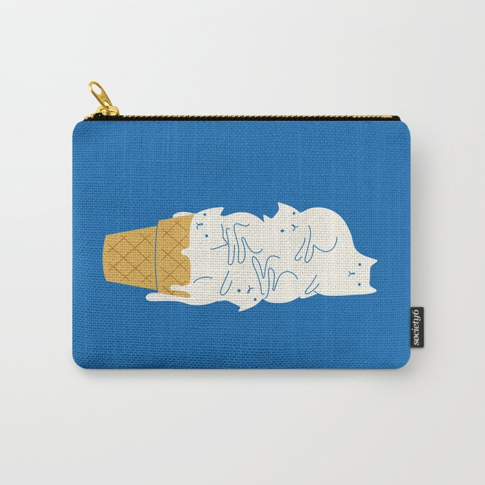Cats Ice Cream Carry-All Pouch