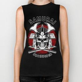 Bushido Samurai Skull Biker Tank