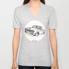 Crazy Car Art 0188 Unisex V-Neck