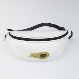 """A classic and funny sparkling star-gazer saying """"Astronomer, You Won't Like Me When Its Cloudy"""".  Fanny Pack"""