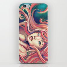 Technicolor Mermaid iPhone & iPod Skin