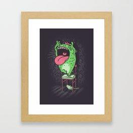 My worst fears Framed Art Print