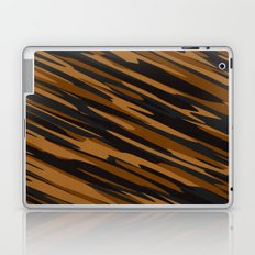 Black and orange abstact Laptop & iPad Skin
