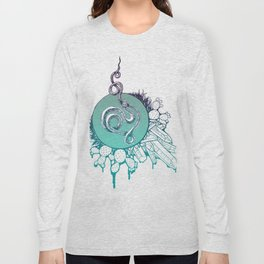 Snake Spirit (Turquoise) Long Sleeve T-shirt