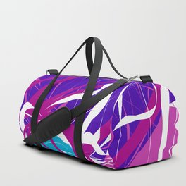 Splashing Watery Planet Abstract Art Duffle Bag