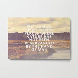 The Human Spirit Metal Print