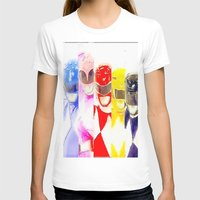power rangers T-shirts featuring Power Rangers by americanmikey