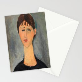 Portrait of Madame Zborowska by Amedeo Modigliani, 1918 Stationery Cards