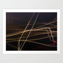 nightshot  Art Print