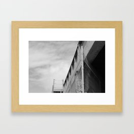 Underpass Framed Art Print