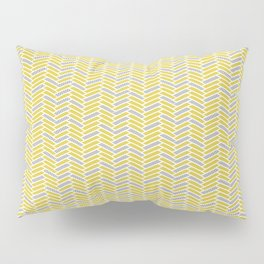 inspired herringbone Pillow Sham