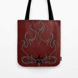 """Blue Blazes"" by One Trick Pony Tote Bag"