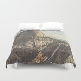 Nevada Falls Yosemite Duvet Cover