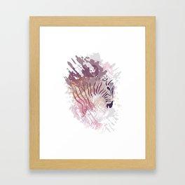 Wild Purple Framed Art Print