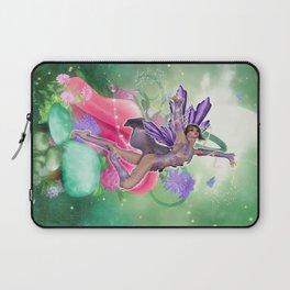 Joyful Fairy .. fantasy Laptop Sleeve