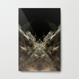 rorschach grand place brussels belgium Metal Print