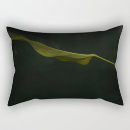 Leafing Through Darkness Rectangular Pillow