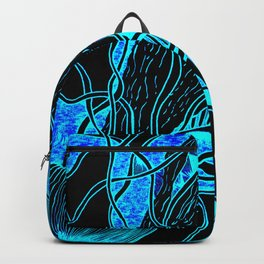 Lava Lamp Aquarium Backpack