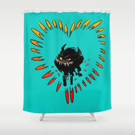 All you need is love... and guns Shower Curtain