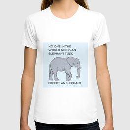 ELEPHANT tusk T-shirt