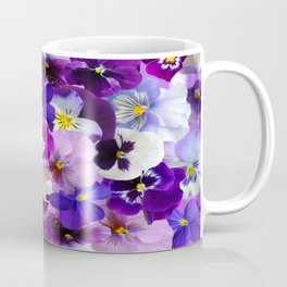 graphic background pansy easter Coffee Mug
