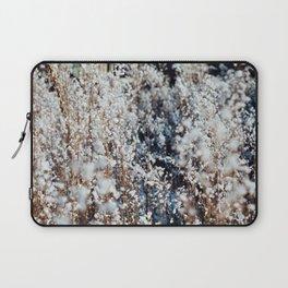 Snow Grass Laptop Sleeve
