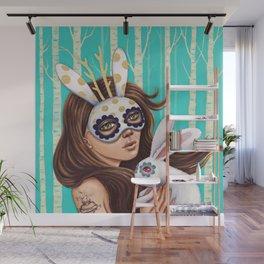 Jackalope and Bunny Wall Mural
