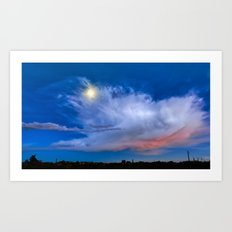 Evening Transitions Art Print