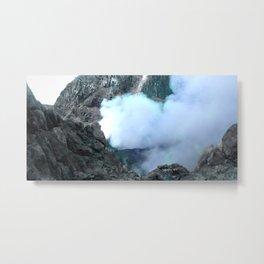 volcano in my own side Metal Print