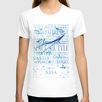 nasa T-shirts featuring NASA Solar System Missions by astrographix