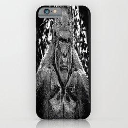 Primate Models: Mad Gorillas 01-02 iPhone Case