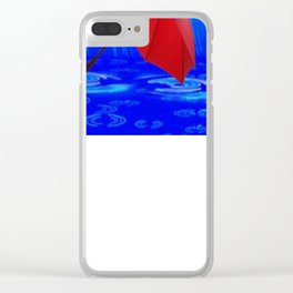 Singing in the Rain Clear iPhone Case