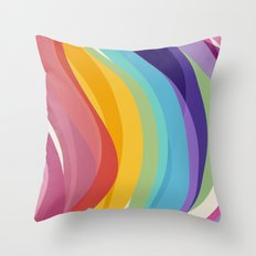 Fig. 045 Colorful Swirls Throw Pillow