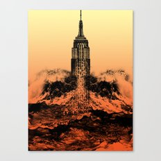 End of an Empire Canvas Print