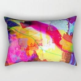 Neon Magic Rectangular Pillow
