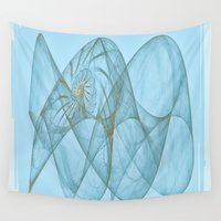 shell Wall Tapestries featuring Shell by Susann Mielke