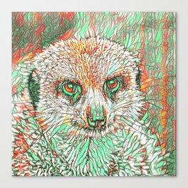 ColorMix Meerkat 2 Canvas Print