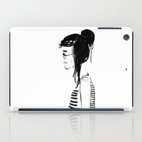 hippy iPad Cases featuring Hippy girl by Oomy12