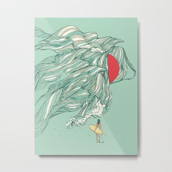 Ocean Summer Metal Print