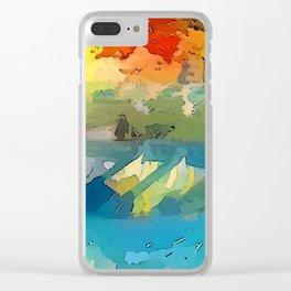 Barca Clear iPhone Case