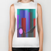 band Biker Tanks featuring Jazz Band by Kristine Rae Hanning