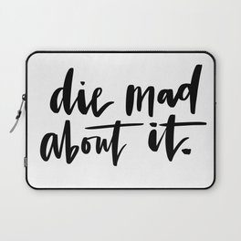 Die Mad About It Laptop Sleeve