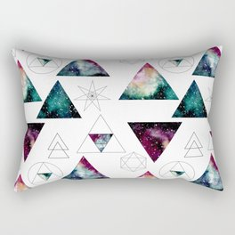 Galaxy Geometric Pattern 27 Rectangular Pillow