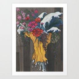 Hand Picked Art Print
